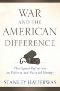 War and the American Difference eBook