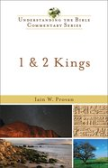 1 and 2 Kings (Understanding The Bible Commentary Series) eBook