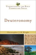 Deuteronomy (Understanding The Bible Commentary Series) eBook