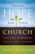 There's Hope For Your Church eBook