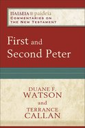 First and Second Peter (Paideia Commentaries On The New Testament Series) eBook