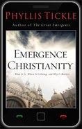 Emergence Christianity eBook