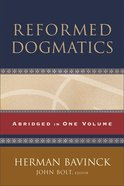 Reformed Dogmatics eBook