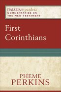 First Corinthians (Paideia Commentaries On The New Testament Series) eBook