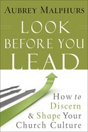 Look Before You Lead eBook