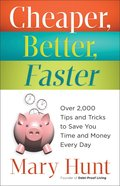 Cheaper, Better, Faster eBook