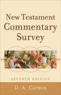 New Testament Commentary Survey eBook
