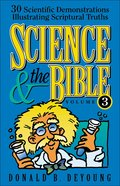 Science and the Bible (Vol 3) eBook