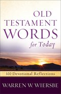 Old Testament Words For Today eBook