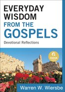 Everyday Wisdom From the Gospels (Ebook Shorts) eBook