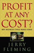 Profit At Any Cost? eBook