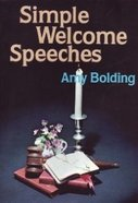 Simple Welcome Speeches eBook