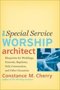 The Special Service Worship Architect eBook