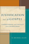 Justification and the Gospel eBook