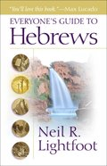 Everyone's Guide to Hebrews eBook