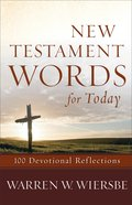 New Testament Words For Today eBook