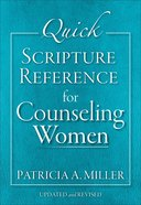 Quick Scripture Reference For Counseling Women eBook