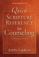 Quick Scripture Reference For Counseling eBook