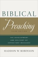 Biblical Preaching eBook
