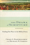 The Drama of Scripture eBook