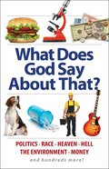 What Does God Say About That? eBook