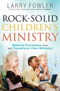 Rock-Solid Children's Ministry eBook