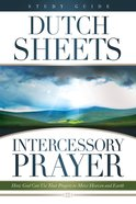 Intercessory Prayer Study Guide eBook