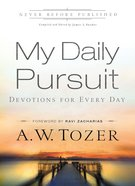 My Daily Pursuit (365 Daily Devotions Series) eBook