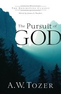 Pursuit of God eBook