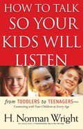 How to Talk So Your Kids Will Listen eBook