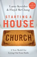 Starting a House Church eBook