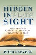 Hidden in Plain Sight eBook