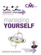 Instant Manager: Managing Yourself eBook