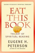 Eat This Book (#02 in Spiritual Theology Series) eBook