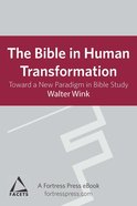 Bible in Human Transformation eBook