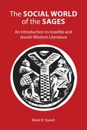 The Social World of the Sages eBook