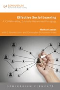 Effective Social Learning (Seminarium Elements Series) eBook