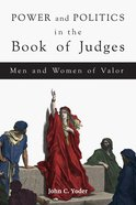 Power and Politics in the Book of Judges eBook