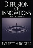Diffusion of Innovations, 4th Edition eBook