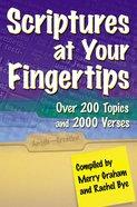 Scriptures At Your Fingertips eBook