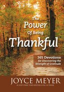 The Power of Being Thankful eBook