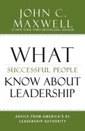 What Successful People Know About Leadership eBook