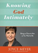 Knowing God Intimately eBook