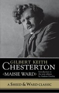 Gilbert Keith Chesterton eBook
