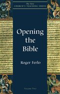 Opening the Bible eBook