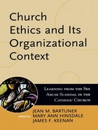 Church Ethics and Its Organizational Context eBook