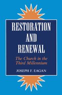 Restoration & Renewal eBook