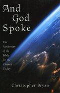 And God Spoke eBook