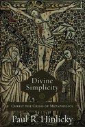 Divine Simplicity eBook