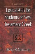 Lexical Aids For Students of New Testament Greek eBook